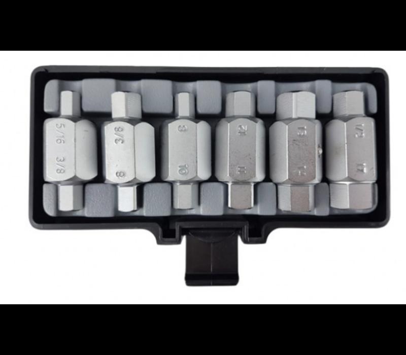 6pc Drain plug key