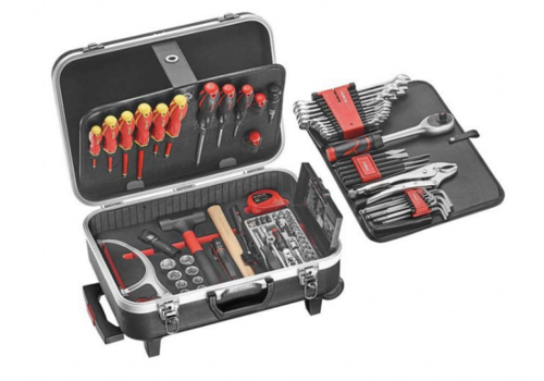 Force Suitcase with 107 pcs of tools