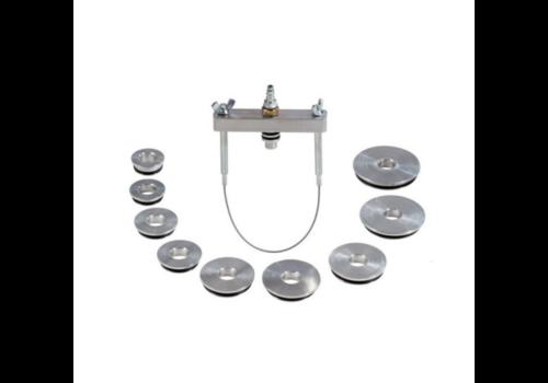 Meclube Kit 9 pressure plugs+universal bracket