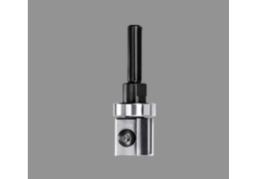 Trasco Keermeskantenfrees rechtHWSchacht 6 mmZ=2 Met geleidelager aan de schacht-zijde en wisselschacht uitvoering