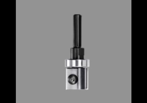 Trasco Keermeskantenfrees rechtHWSchacht 6 of 8mmZ=2 Met geleidelager aan de schacht-zijde en wisselschacht uitvoering