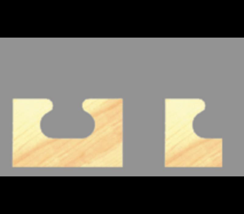 HandgreepprofielfreesHW Z=2 Wisselschacht uitvoering