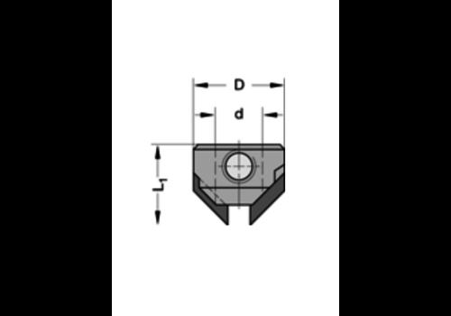 Trasco Opsteekverzinker 90°HWZ=2 Te gebruiken op boren met spiraalgeleiding