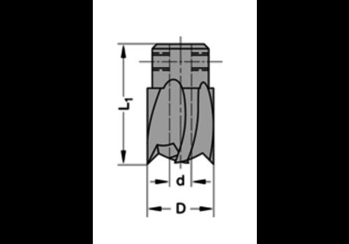 Trasco Opsteekverzinkers rechtHSZ=2/V=2 Te gebruiken op boren met spiraalgeleiding