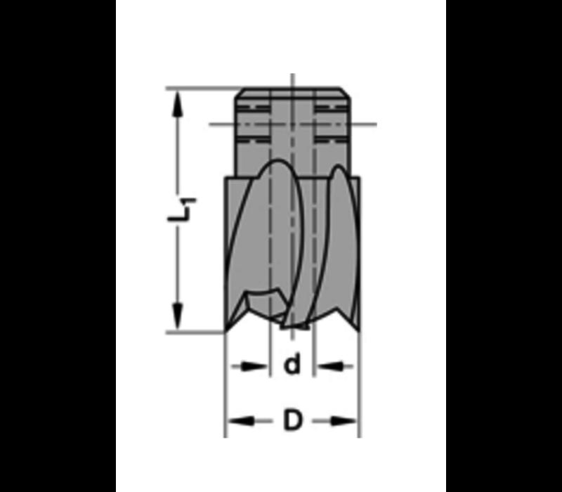 Opsteekverzinkers rechtHSZ=2/V=2 Te gebruiken op boren met spiraalgeleiding