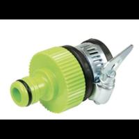 Ronde mengkraanconnector 15-18 mm binnendraad naar 12,7 mm buitendraad