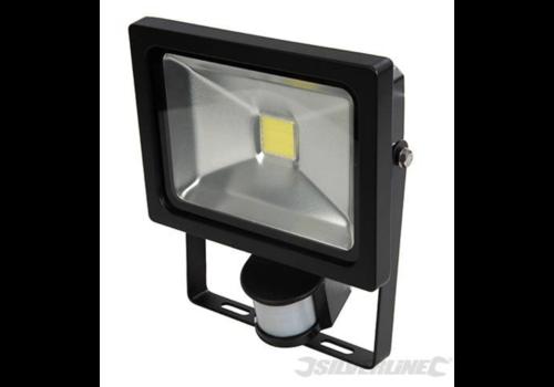 Silverline COB LED schijnwerper 20 W PIR
