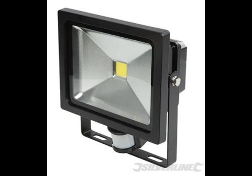 Silverline COB LED schijnwerper 30 W PIR
