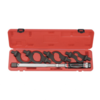 Force 9pc Head-interchageable torque wrench & single-hook spanner set