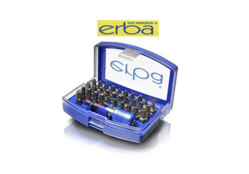 Erba Bit Set 32 pcs. 1/4''