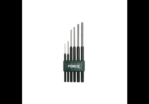 Force 6pc Pin punch set