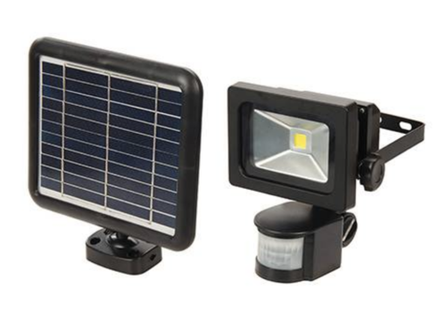 Silverline LED PIR schijnwerper op zonneënergie