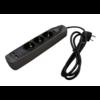 RELECTRIC  STEKKERDOOS 1,5 MTR 3-VOUDIG 2X USB