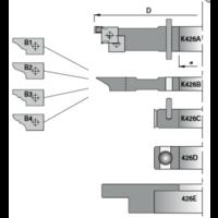 Frezenset multiprofiel t.b.v. kastdeuren K426-1