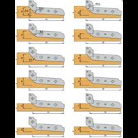 Paneelfrees bovendraaiend K427-1