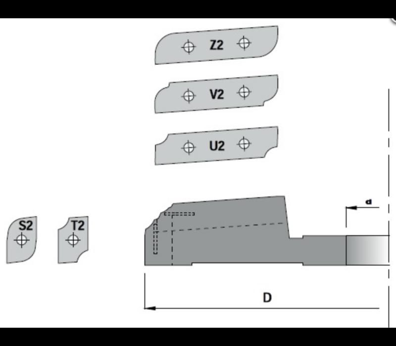 Paneelfrees onderdraaiend K427-2