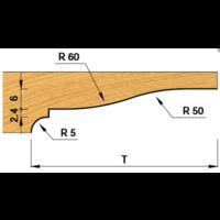 Paneelfrees onderdraaiend K427-4