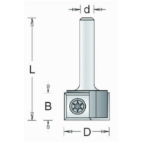 HM Groeffrees met wisselmessen 12mm