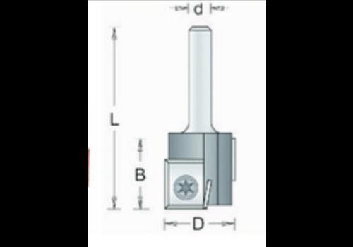RVS tools HM Groeffrees met wisselmessen inborend