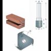 RVS tools HM Schijffrees verzonken 8mm