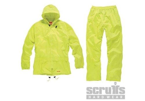 Scruffs Regenpak, geel, 2-delig