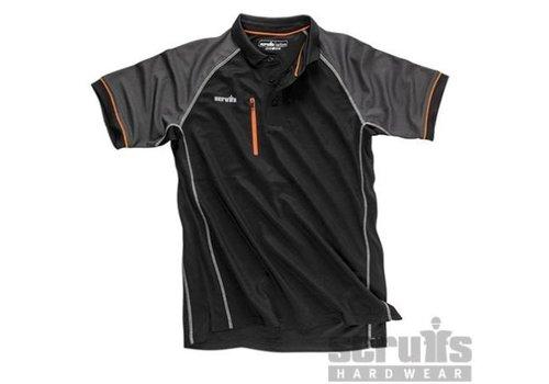 """Scruffs """"Active"""" Poloshirt, zwart"""