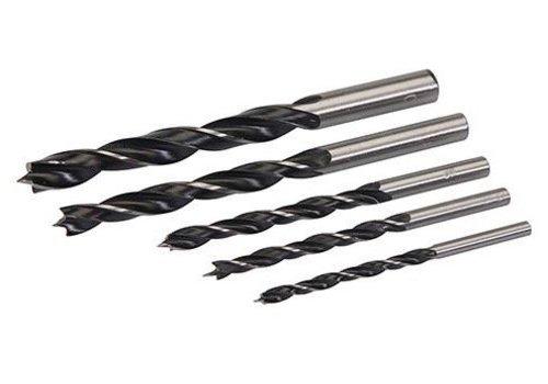 Silverline 5-delige houtboor set 5-delige set, 4 - 10 mm