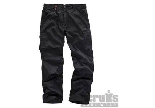Scruffs Werkbroek 'Worker Plus', zwart
