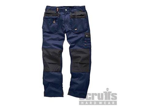 Scruffs Werkbroek 'Worker Plus', blauw