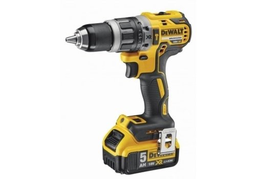 Dewalt 18V XR Brushless Schroef-/klopboormachine 2x5.0Ah in TSTAK