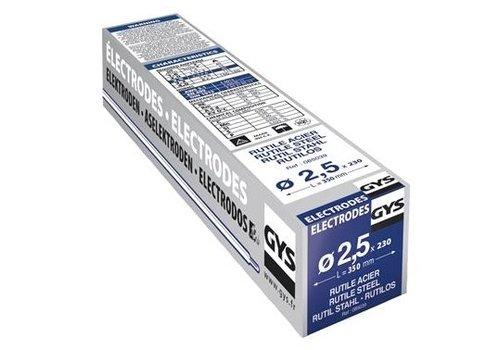 GYS ELEKTRODES STAAL O2,5MM (X230)