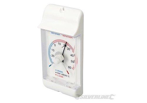 Silverline Min/Max wijzerthermometer -30 °C tot +60 °C