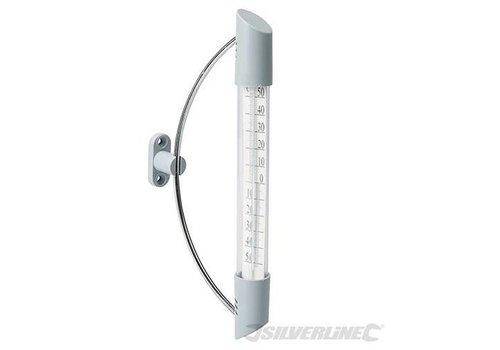 Silverline Binnen/buiten zwaaithermometer, -50 °C tot +50°C