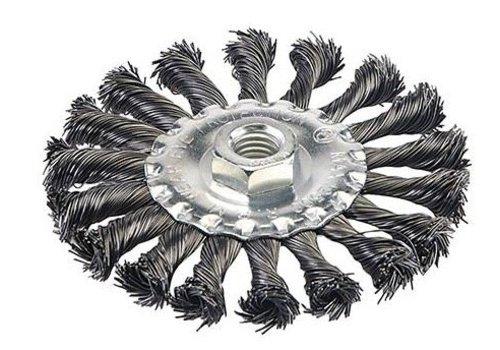 Silverline Staalborstel met getordeerd draad 115 mm