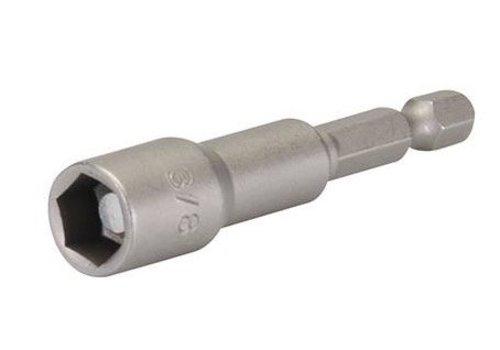 """Silverline Magnetische dopsleutel 3/8"""" x 65 mm"""