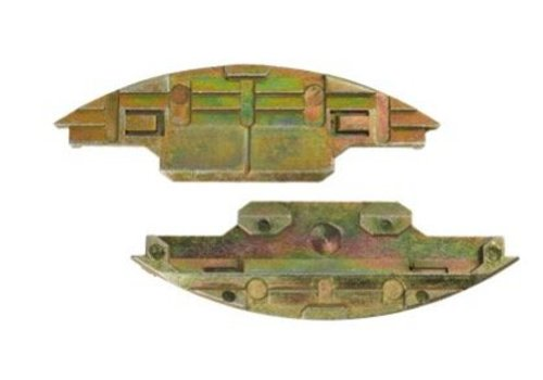 Lamello Metal Schuifverbinder om vast te schroeven Metal, 40 paar