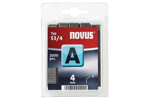Novus Dundraad nieten A 53/4 mm, 2000 st.