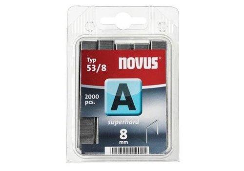 Novus Dundraad nieten A 53/8 mm, 2000 st.