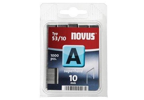 Novus Dundraad nieten A 53/10 mm, SH, 1000 st.