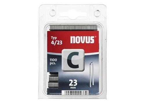 Novus Smalrug nieten C 4/23, 1100 st.