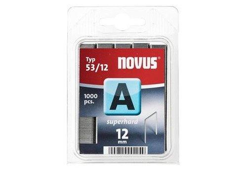 Novus Dundraad nieten A 53/12 mm, SH, 1000 st.