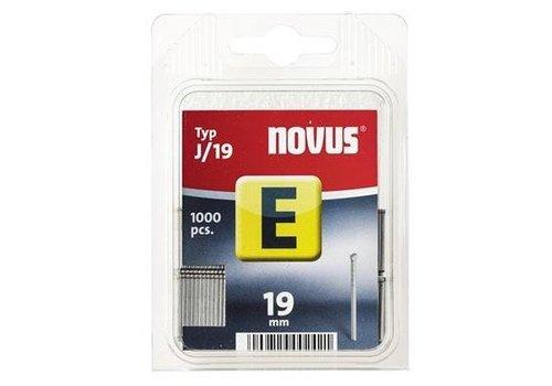 Novus Nagels (spijker) E J/19 mm, SB, 1000 st.
