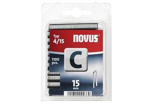 Novus Smalrug nieten C 4/15, 1100 st.
