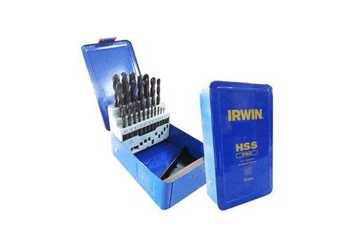 Irwin Borenset HSS Pro, 25-delig, casette:
