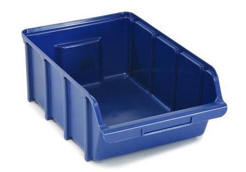 Raaco Magazijnbakken Stapelbak 5, blauw BIN 5