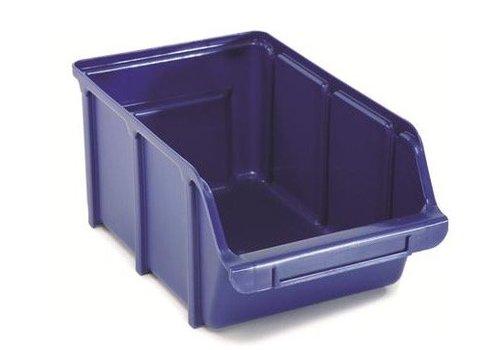 Raaco Magazijnbakken Stapelbak 4, blauw BIN 4