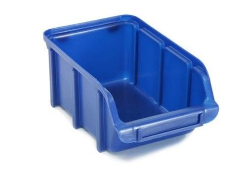 Raaco Magazijnbakken Stapelbak 2, blauw BIN 2