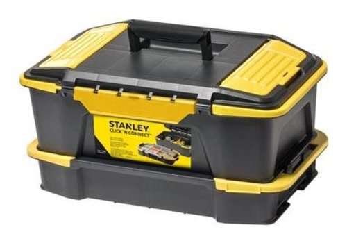 Stanley click & connect deep tool box & organiser