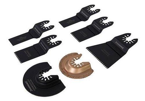 Silverline 7-delige Multitool accessoire set