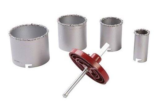 Silverline 6-delige hardmetalen korrel gatenzaag set